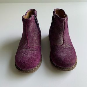 Tucker and Tate purple boots